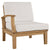 Marina Outdoor Patio Teak Right-Facing Sofa EEI-1148