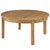 Marina Outdoor Patio Teak Round Coffee Table EEI-1153