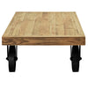 Garrison Wood Top Coffee Table EEI-1206