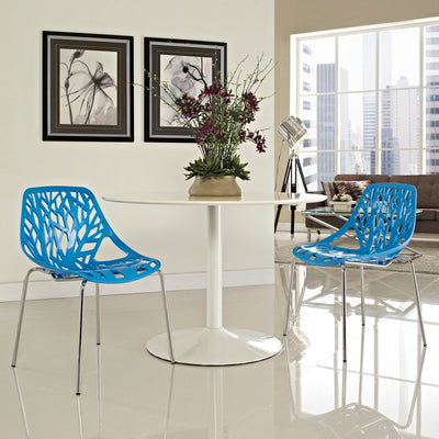 Stencil Dining Side Chair Set of 2 EEI-1317