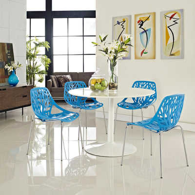 Stencil Dining Side Chair Set of 4 EEI-1318