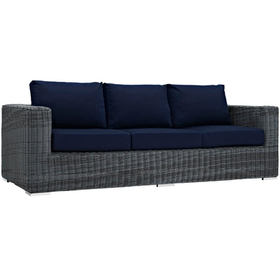 Summon Outdoor Patio Sunbrella Sofa EEI-1874