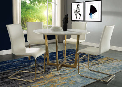 Tov-Maxim Marble Dining Table-Table-MODTEMPO