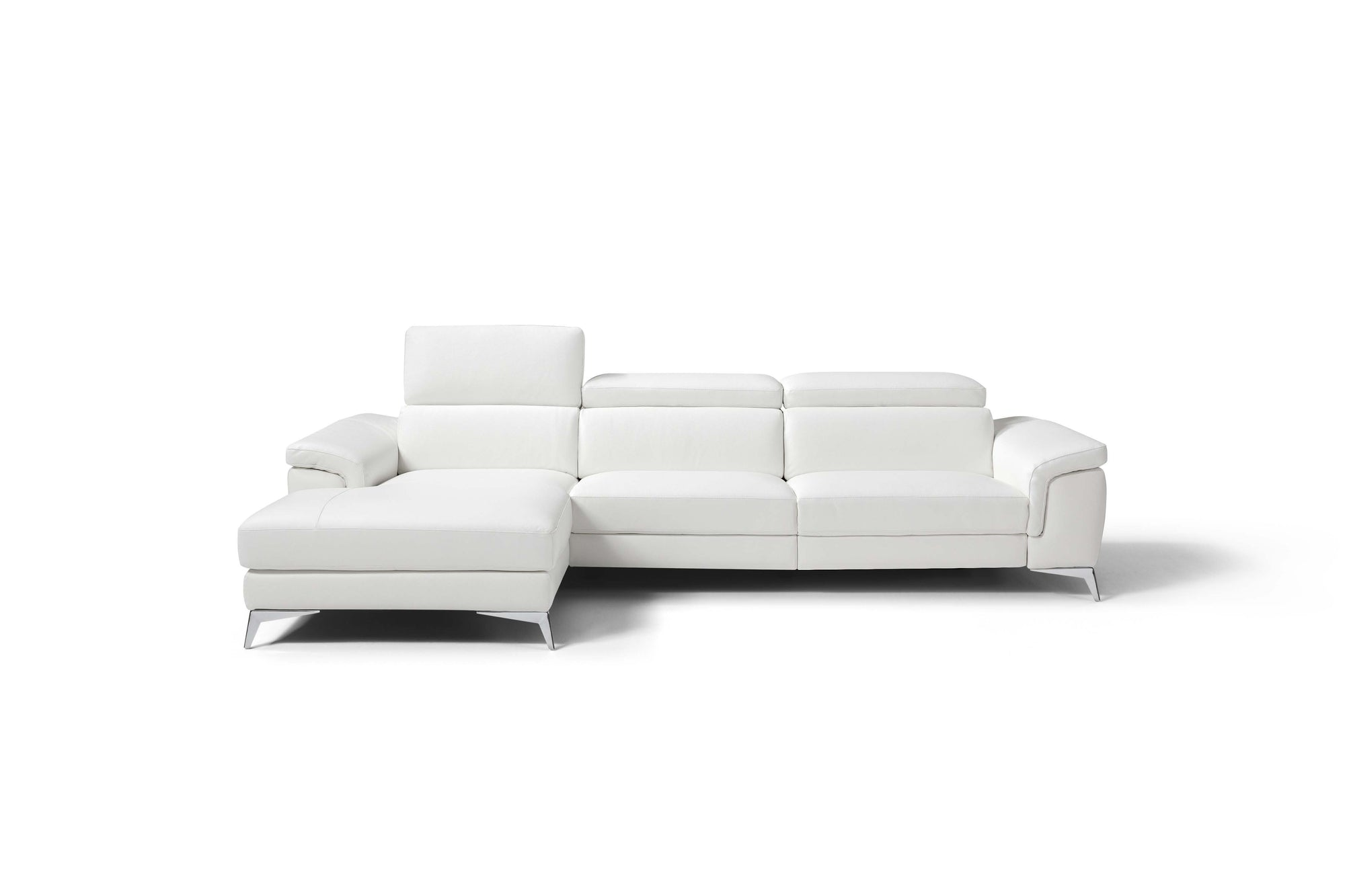 Whiteline Modern Living-Flavio Left Facing Sectional-Sectionals-MODTEMPO