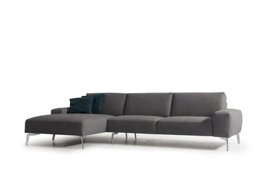 Whiteline Modern Living-Negramaro Left Facing Sectional-Sectionals-MODTEMPO
