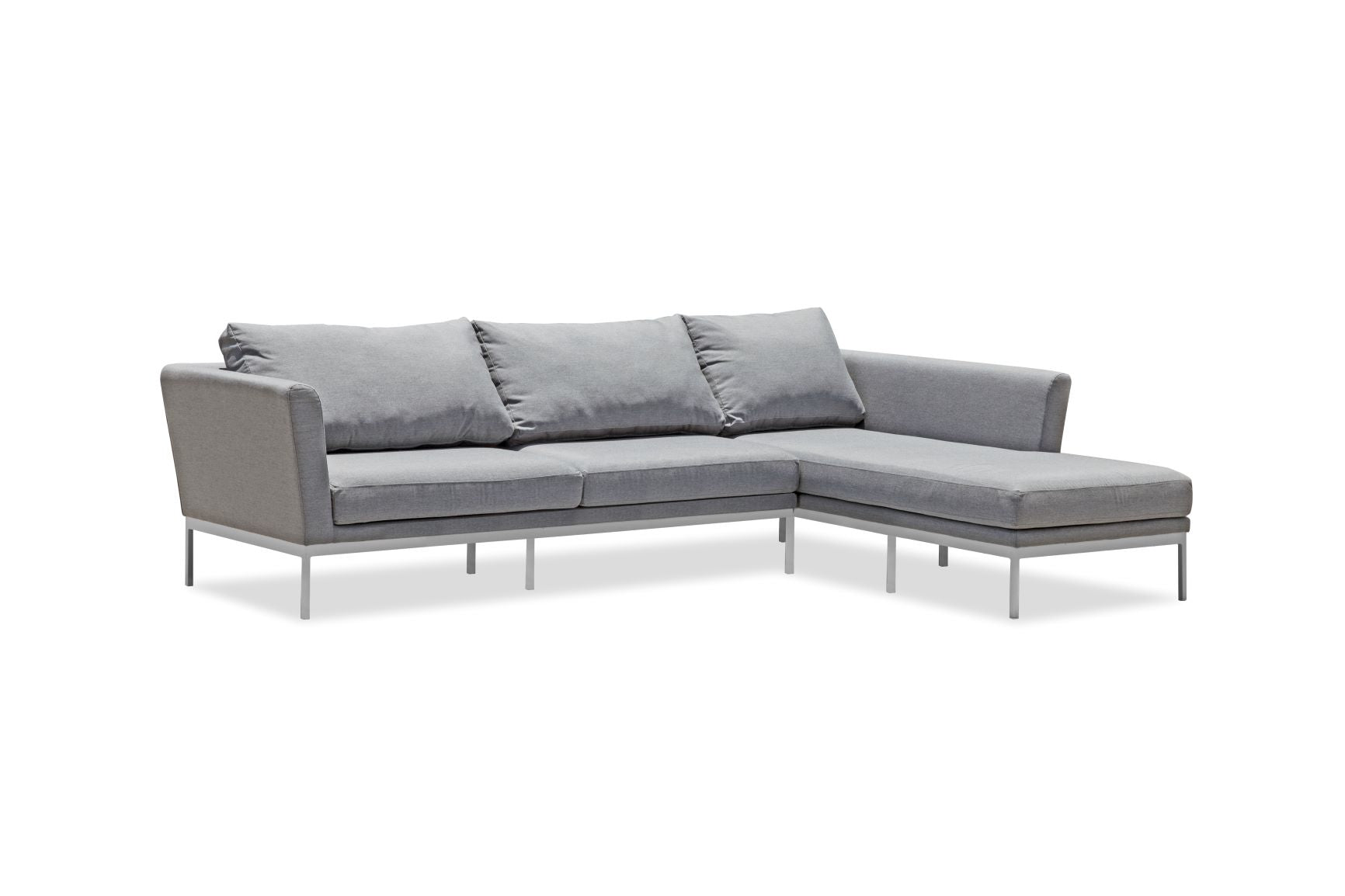 Whiteline Modern Living-Ursula Outdoor Right Facing Sectional-Outdoor Sectionals-MODTEMPO