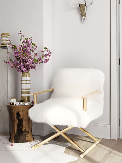 Tov-Jodi Sheepskin Chair-Arm Chair-MODTEMPO