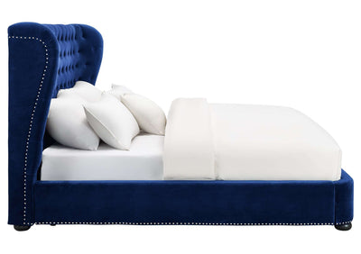 Tov-Finley Velvet Bed in King-Bed-MODTEMPO