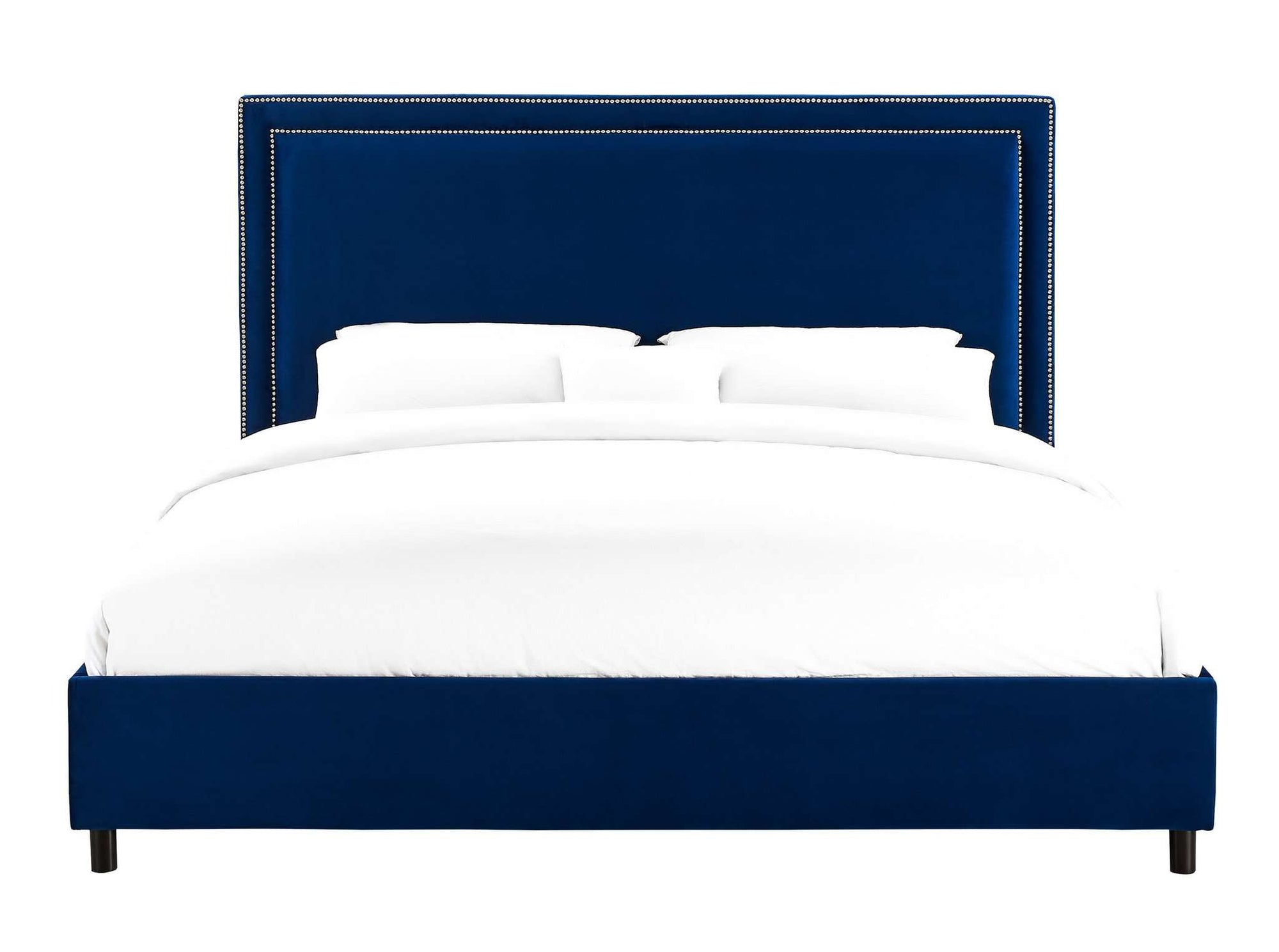 Tov-Reed Velvet Bed in King-Bed-MODTEMPO