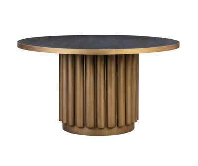 MODTEMPO-Kali Round Dining Table-Dining Tables-MODTEMPO