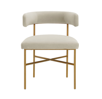 TOV-Kim Velvet Dining Chair-Dining Chairs-MODTEMPO