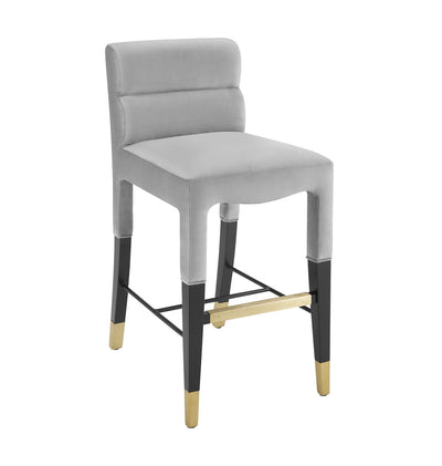Taylor Velvet Counter Stool