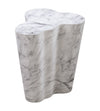 TOV-Slab Marble Tall Side Table-End/Side Tables-MODTEMPO