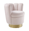 TOV-Yad Velvet Swivel Chair-Lounge Chairs-MODTEMPO