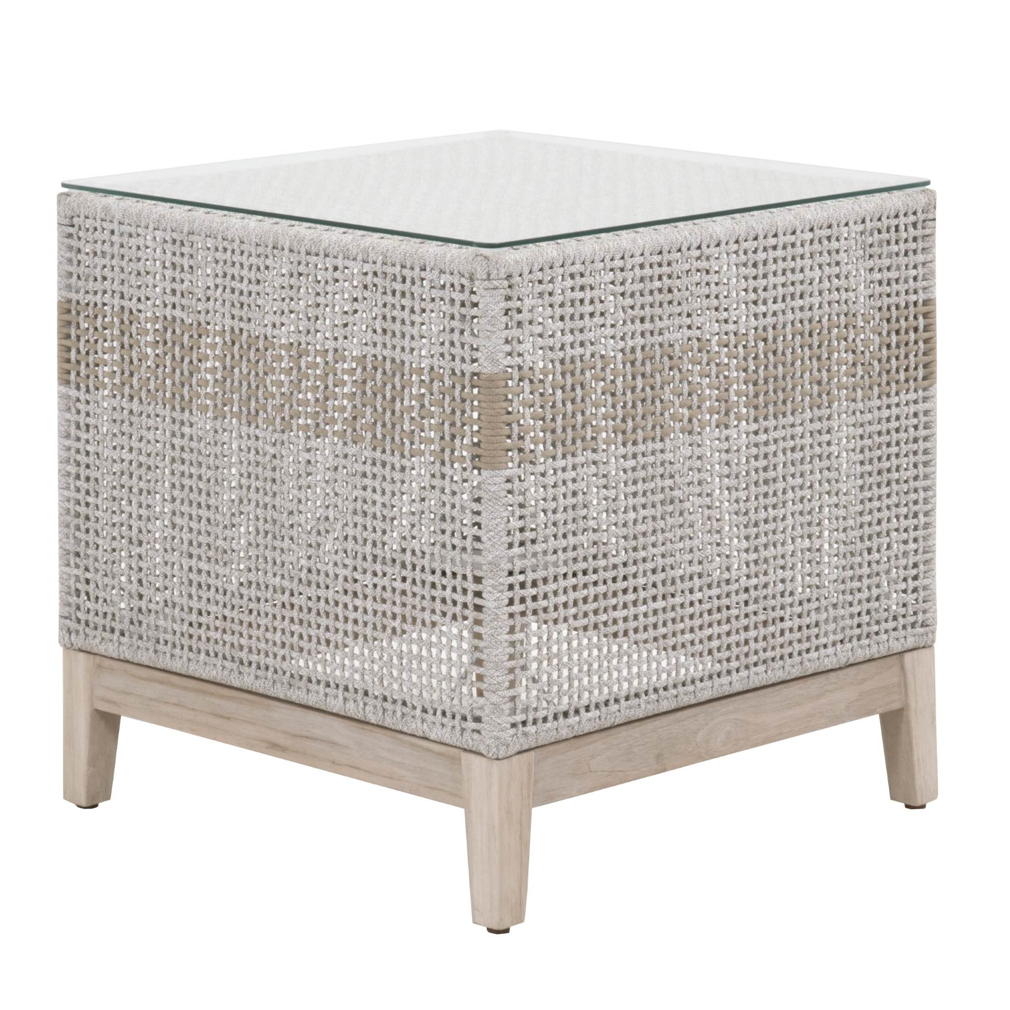Essentials for Living-Tapestry Outdoor End Table-Outdoor Side Tables-MODTEMPO