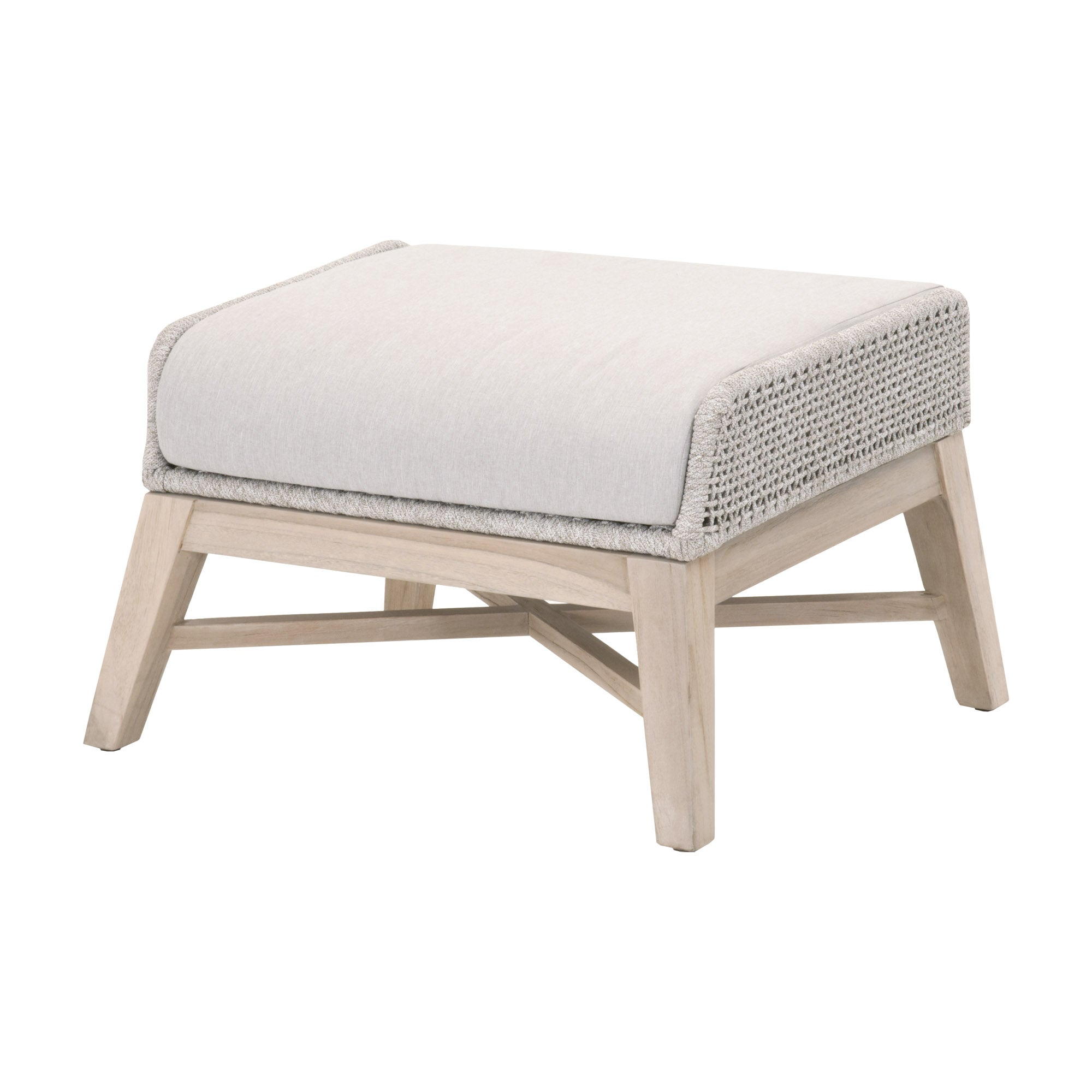 Essentials for Living-Tapestry Outdoor Footstool-Outdoor Ottomans-MODTEMPO