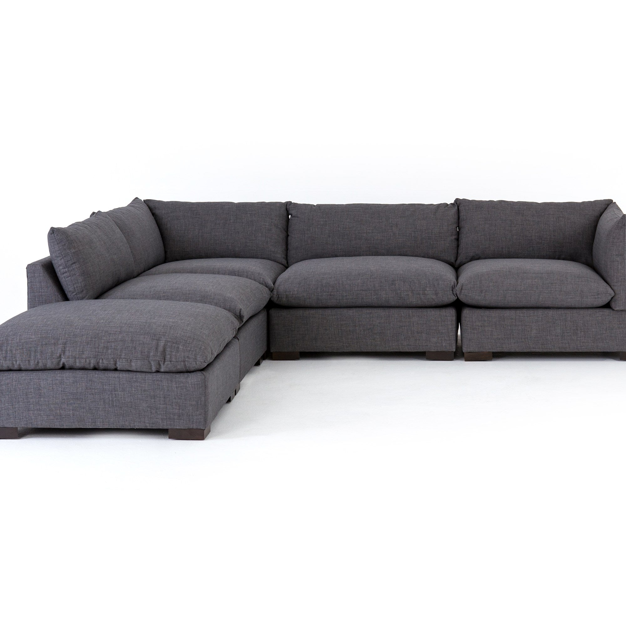Westwood 4 Piece Sectional with Ottoman