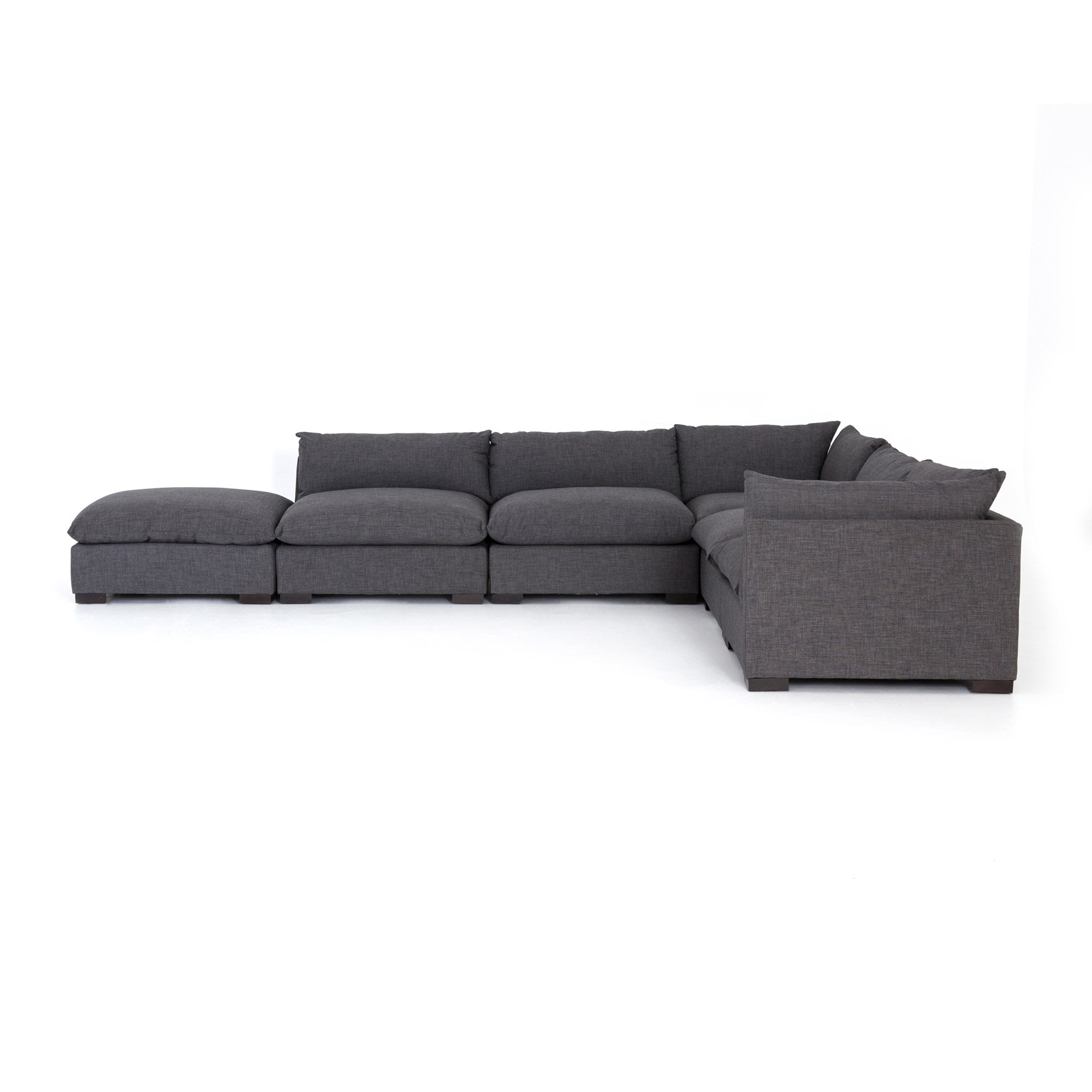 Westwood 5 Piece Sectional with Ottoman