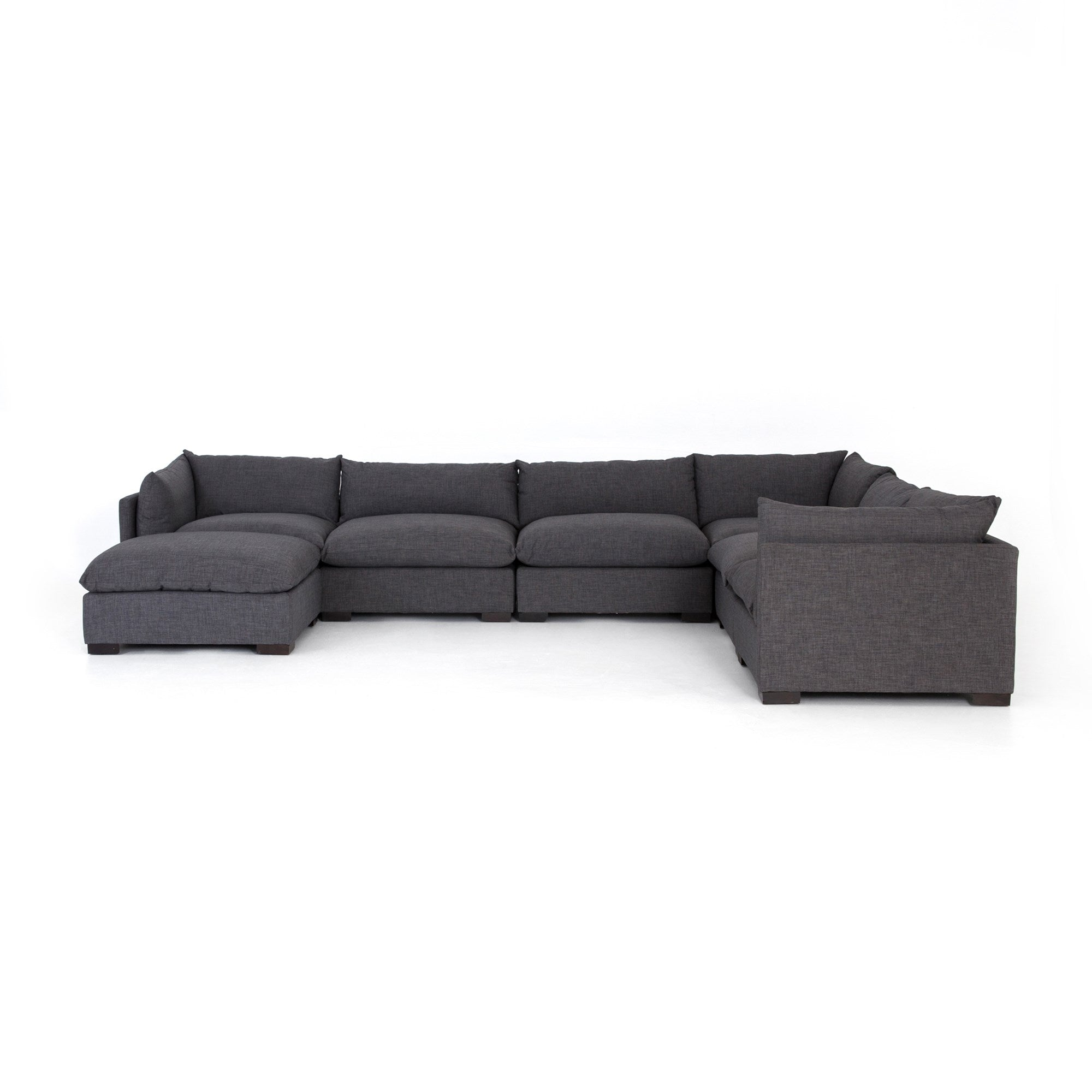Westwood 6 Piece Sectional with Ottoman