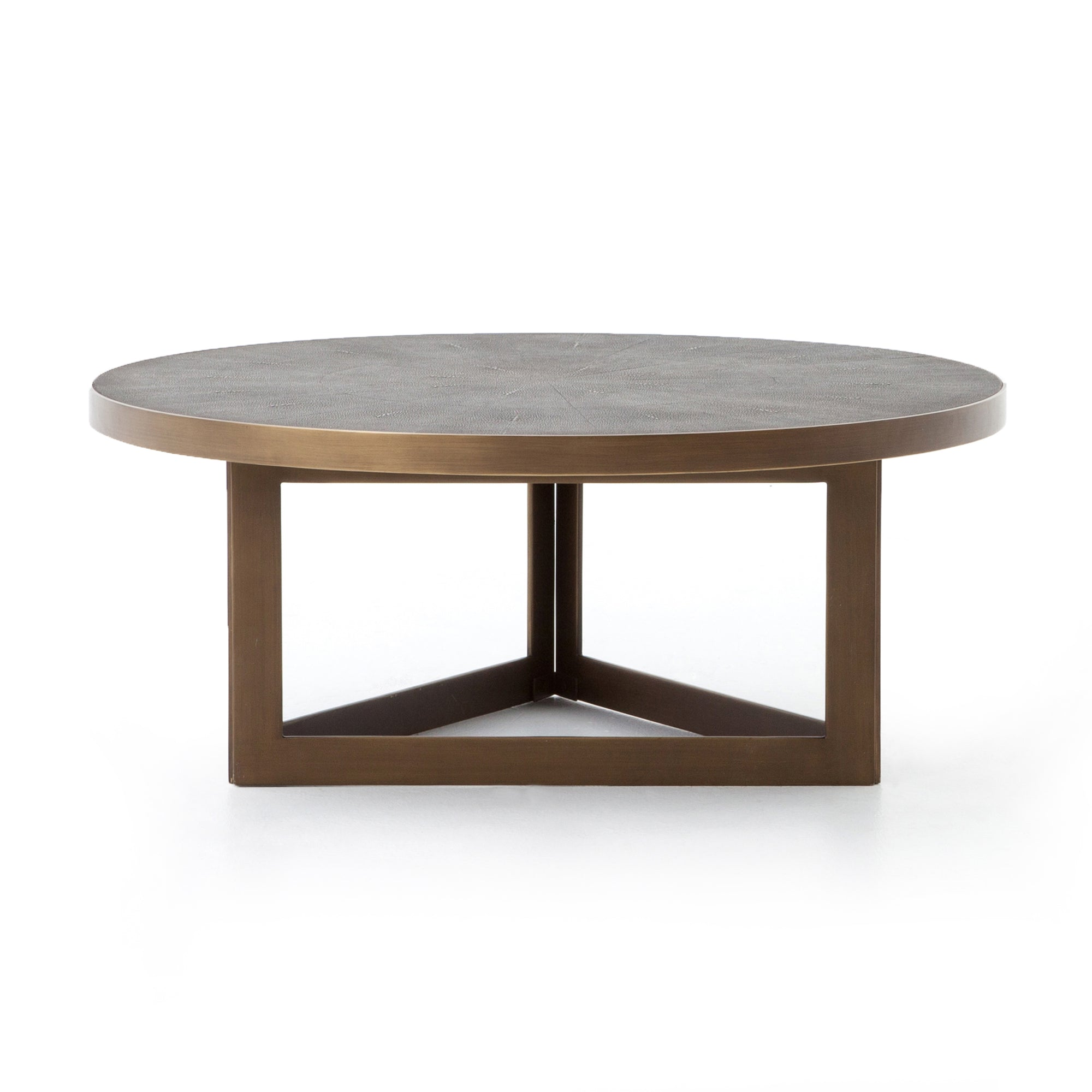 Shagreen Round Coffee Table