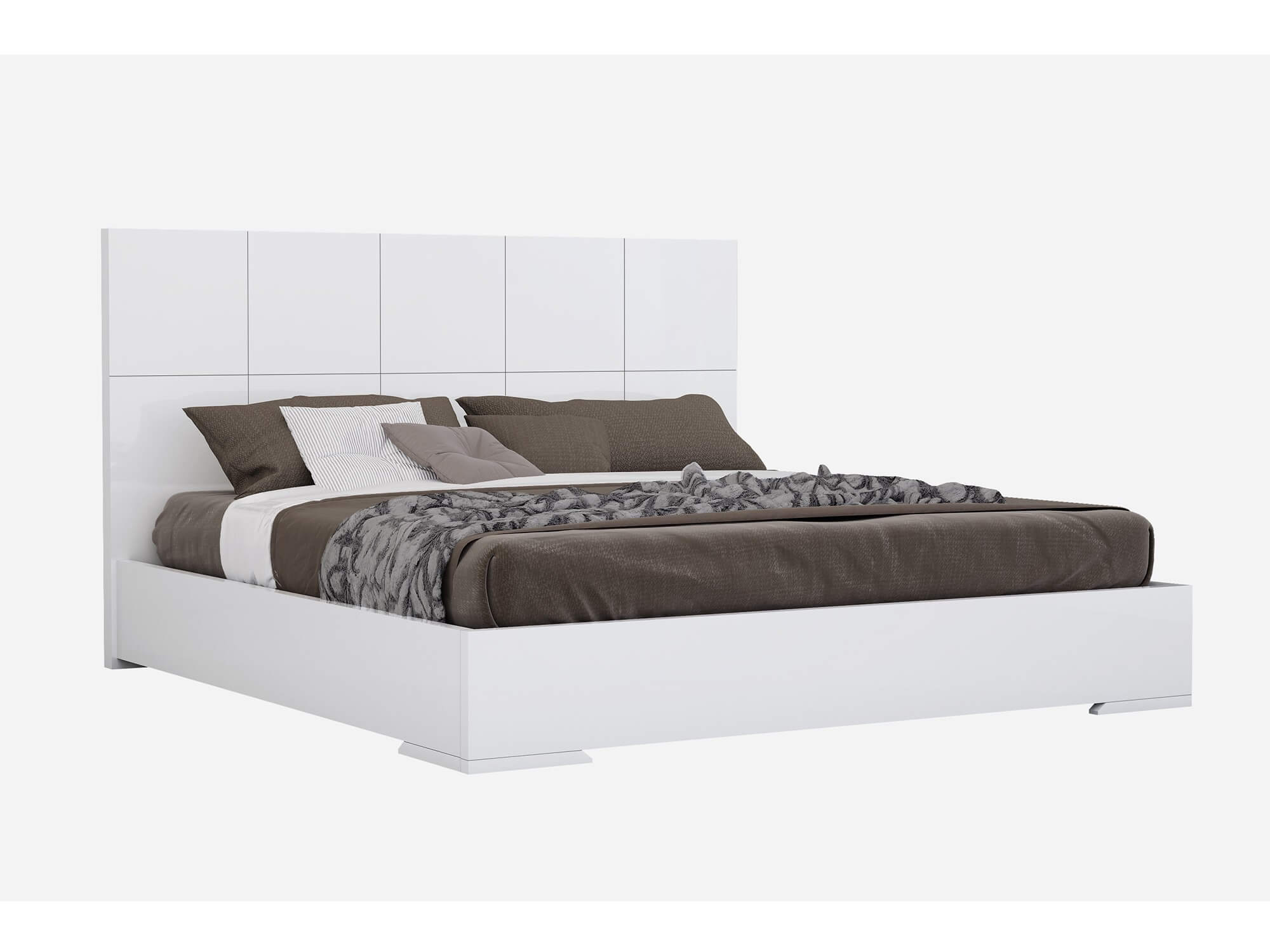 Whiteline Modern Living-Anna Bed-None-MODTEMPO