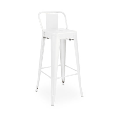 Dreux Steel Low Back Barstool 30 Inch (Set of 4)