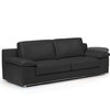 Alexandra Black Sofa With Adjustable Arm Rests