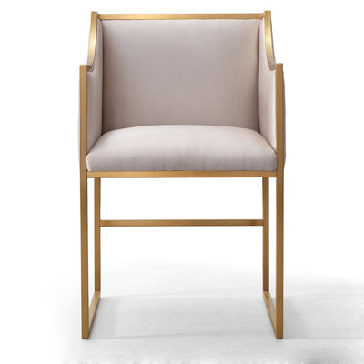 Tov-Atara Cream Velvet Chair-Dining Chairs-MODTEMPO