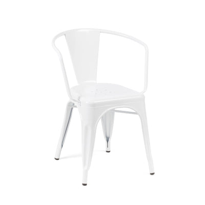 Dreux Steel Stackable Dining Chair (Set of 4)