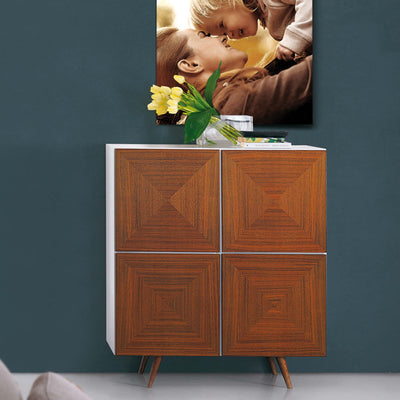 Bellini-City Cabinet in HG - Doors-Cabinet-MODTEMPO