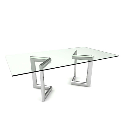 Bellini-Clara Rectangular Dining Table-Dining Tables-MODTEMPO