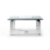 Whiteline Modern Living-Cuatro Extendable Dining Table-Dining Tables-MODTEMPO