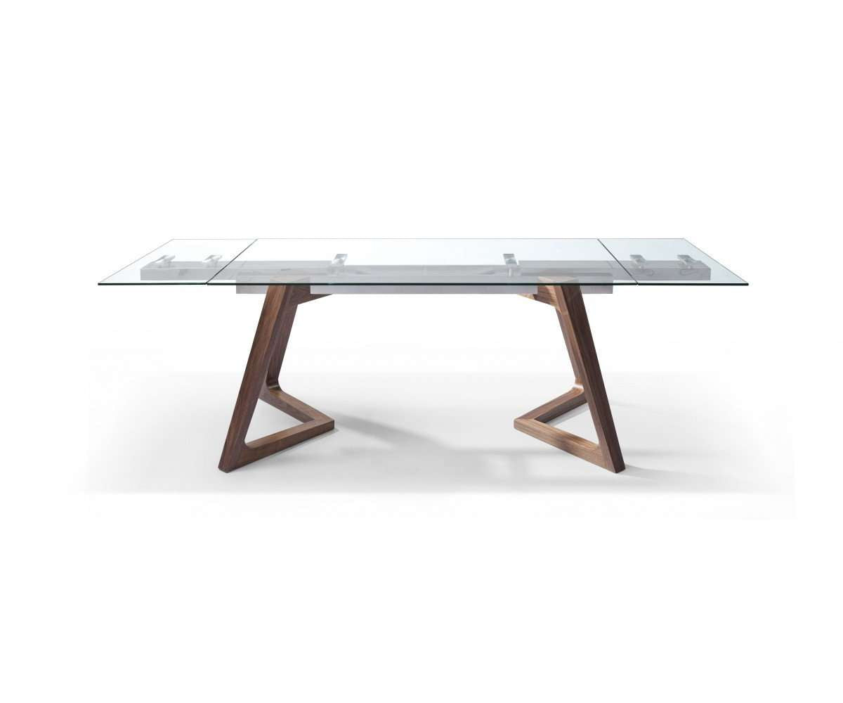 Whiteline Modern Living-Delta Extendable Dining Table-Dining Tables-MODTEMPO