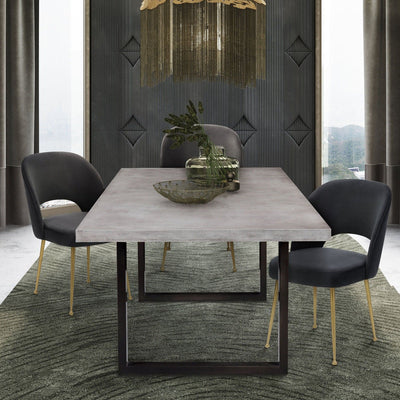 Tov-Edna Veneer Table-Dining Tables-MODTEMPO
