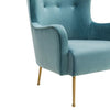 Tov-Ethan Velvet Chair-Arm Chair-MODTEMPO