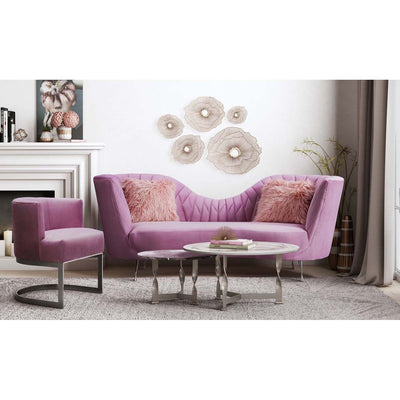 Tov-Eva Velvet Chair-Accent Chairs-MODTEMPO
