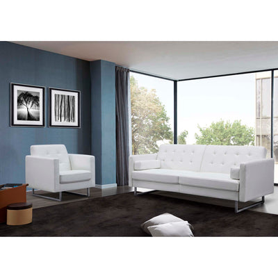 Whiteline Modern Living-Giovanni Sofa Bed-Sofa-MODTEMPO