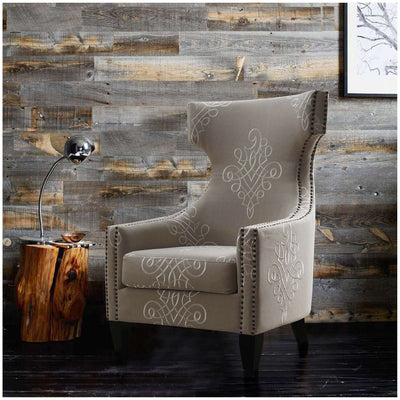 Tov-Gramercy Linen Wing Chair-Arm Chair-MODTEMPO