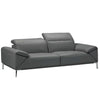 Bellini-Greta Loveseat #35607 With Adjustable Neck Rest & Arm Cushions-Loveseats-MODTEMPO