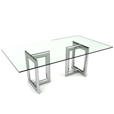 Bellini-Laina Rectangular Dining Table-Dining Tables-MODTEMPO