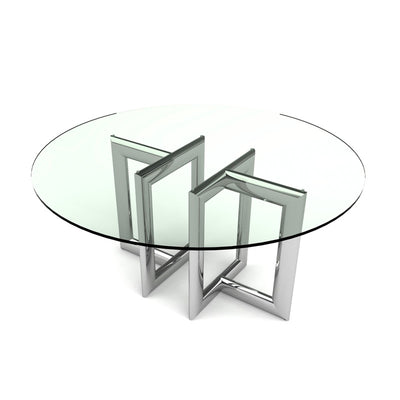 Bellini-Laina Round Dining Table-Dining Tables-MODTEMPO