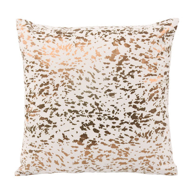 Tov-Leather Speckled Pillow-Pillows-MODTEMPO