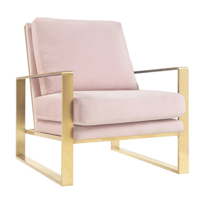 Tov-Mott Velvet Chair-Accent Chairs-MODTEMPO