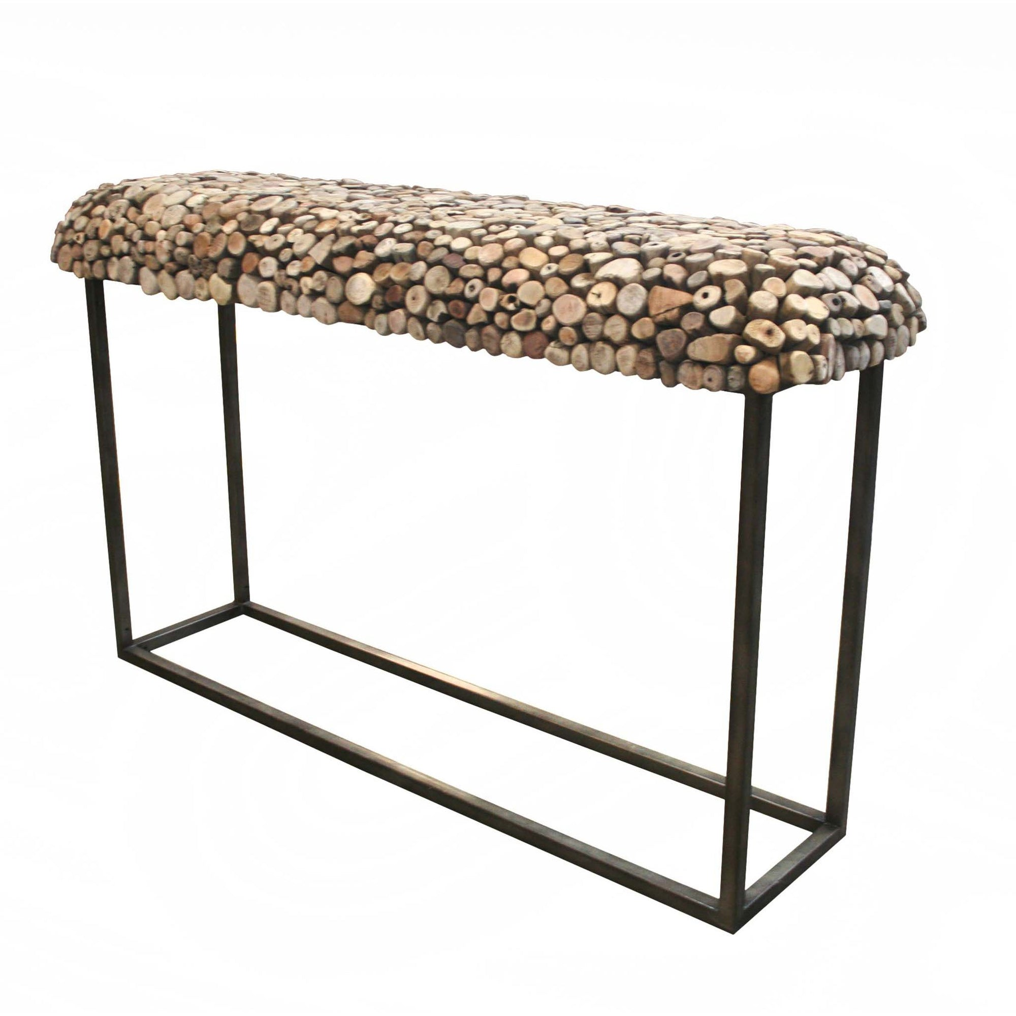 Bellini-Pebble Sofa Table-Console & Sofa Tables-MODTEMPO