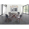 Whiteline Modern Living-Redondo Round Dining Table-Dining Tables-MODTEMPO