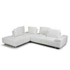 Bellini-Roxanne Left Hand Facing Sectional #35612 With Adjustable Back & Arm Cushions-Sectionals-MODTEMPO