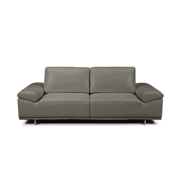 Roxanne Dark Grey Sofa With Adjustable Back Cushions and Arm Rests
