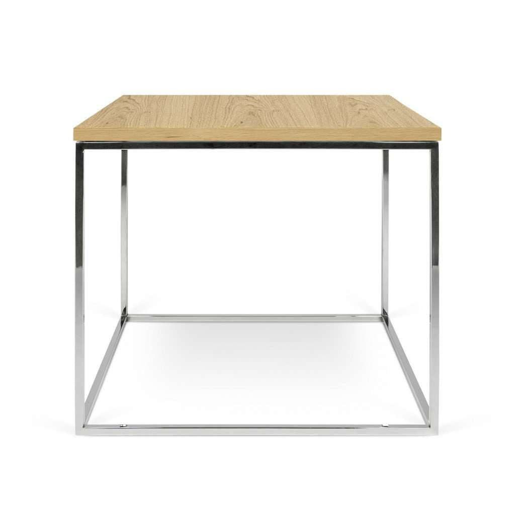 Tema Home-Gleam 20x20 Side Table 187042-GLEAM20-Coffee Table-MODTEMPO
