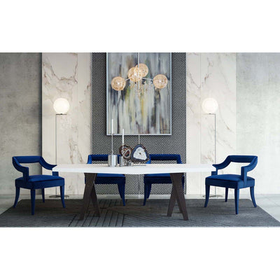 Tov-Tiffany Velvet Chair-Dining Chairs-MODTEMPO