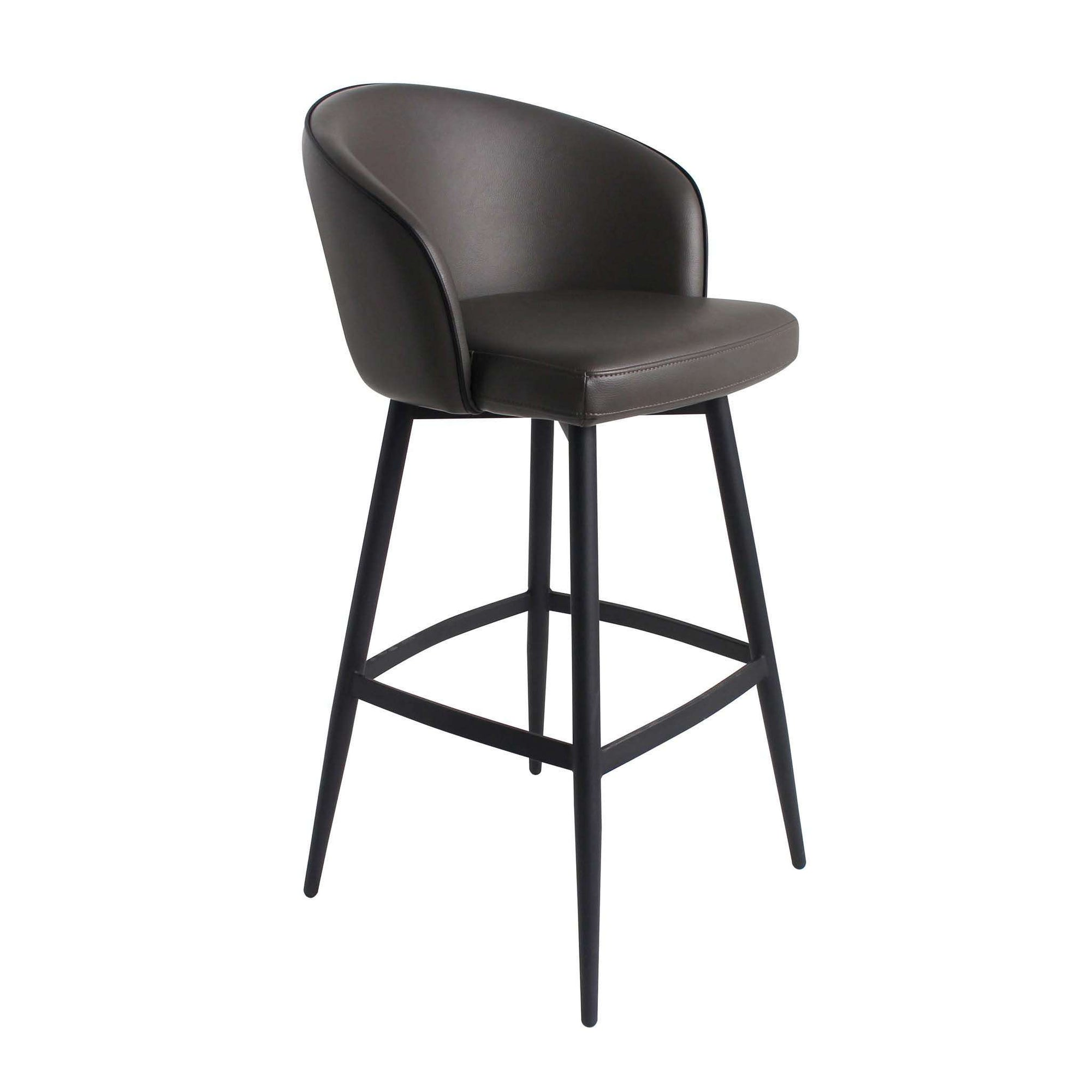 MOES-WEBBER BAR STOOL CHARCOAL-None-MODTEMPO
